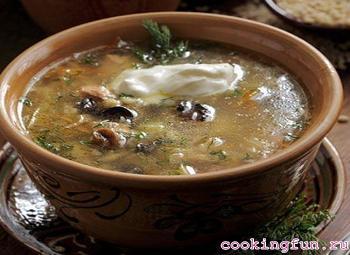 gribnoi cup iz belih gribov v gorshockah 2701 Грибной суп из белых грибов в горшочках
