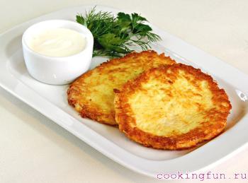 Как из картошки сделать драники из картошки