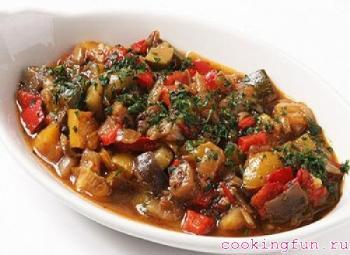 ovoshnoe ragu s govygei pecheny 0302 Овощное рагу с говяжьей печенью