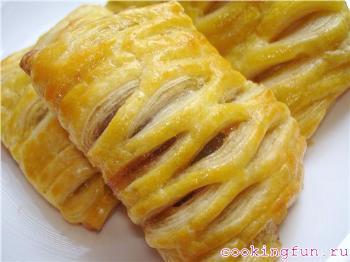 pirogki s yablokami v tvorognom teste 10091 Пирожки с яблоками в творожном тесте