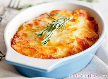 zapekanka iz kartofela s sirom 2312 Запеканка из картофеля с сыром