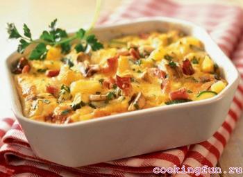 рецепты из куриного филе и картофеля в духовке